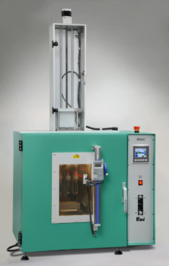 Elastocon Hot set tester, kabelmantel test